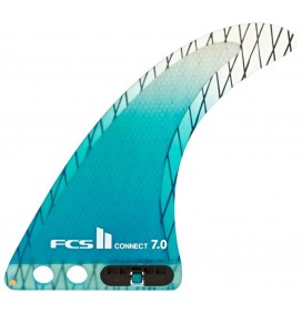 Quilha longboard FCSII Connect PC Carbon