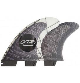 Ailerons FCSII Hayden Shapes Tri-Quad PC Carbon