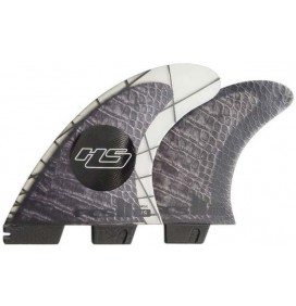 Quilhas FCSII Hayden Shapes Tri-Quad PC Carbon