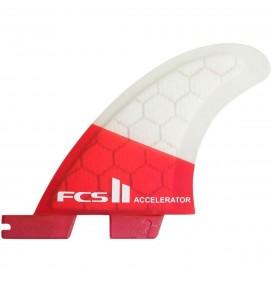 Ailerons de surfs FCS II Accelerator PC Grom