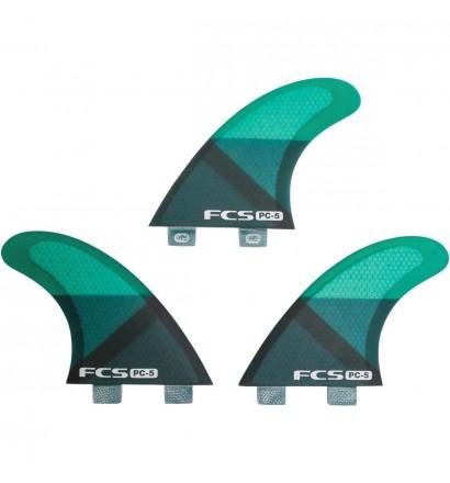 Ailerons de surf FCS PC