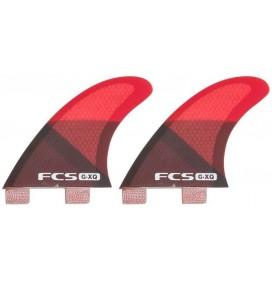 Ailerons de surf arrière Quad FCS GX-Q