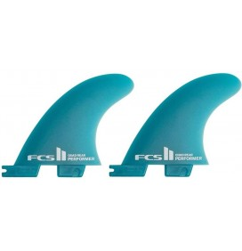 Fins FCSII Performer Quad Rear Neo Glass