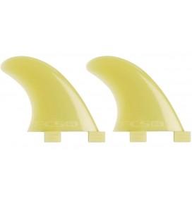 Ailerons de longboard latéraux FCS G-L side