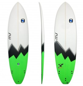 Surfplank evolutionaire MS Gekke Koe