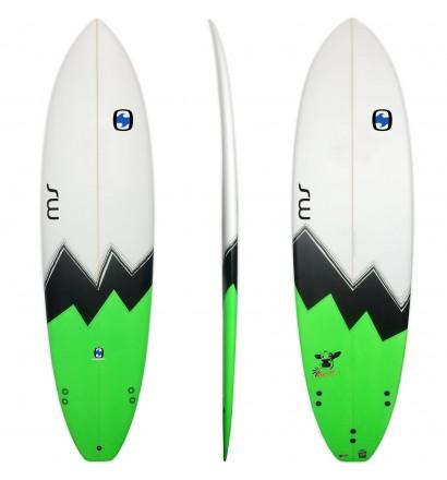 Surfplank evolutionaire MS Gekke Koe