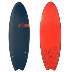 "Tavola Da Surf Softjoy Capitano Beubar 5'6"""