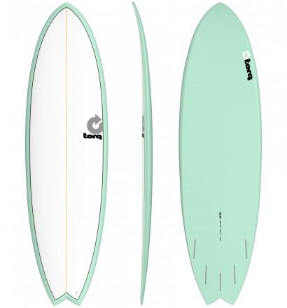 Prancha de surf Torq fish Colour Pinline