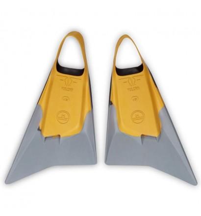 Pride Vulcan V2 Yellow/Grey Fins