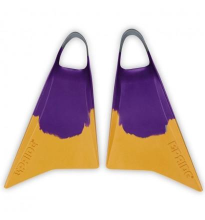 Pride Vulcan V2 Purple/Yellow Fins