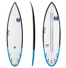 Tabla de surf MS Crazy Fish Squash