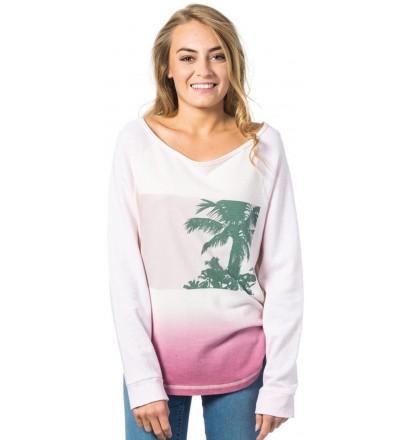 Sweatshirt Rip Curl Bardenas Crew Fleece
