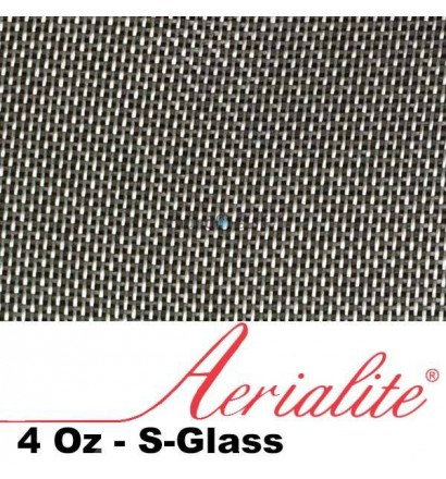 Fibra de vidrio S-Glass Aerialite 4Oz