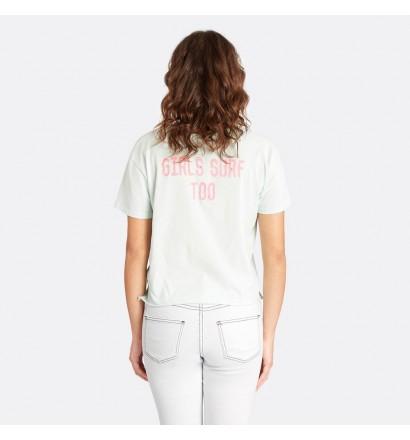 Camiseta Billabong Crop Tee