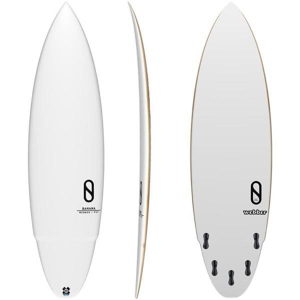 Imagén: Tabla de surf Slater Design Banana (EN STOCK)