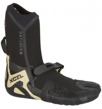 Chaussons de surf Xcel Drylock Split Toe Boot 3mm