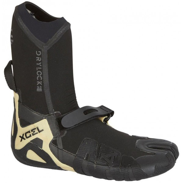 Imagén: Chaussons de surf Xcel Drylock Split Toe Boot 3mm