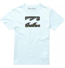 T-Shirt Billabong Team Onda Ragazzo