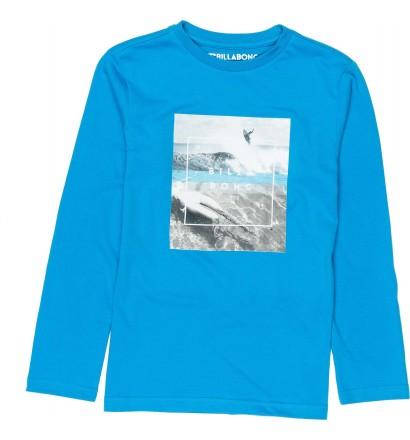Billabong-t-shirt chill Boy lange ärmel