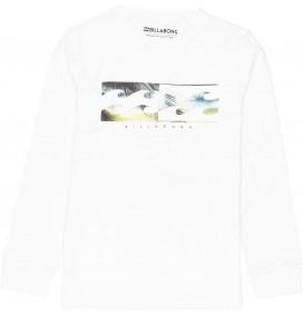 Billabong-t-shirt Inverse Boy lange ärmel