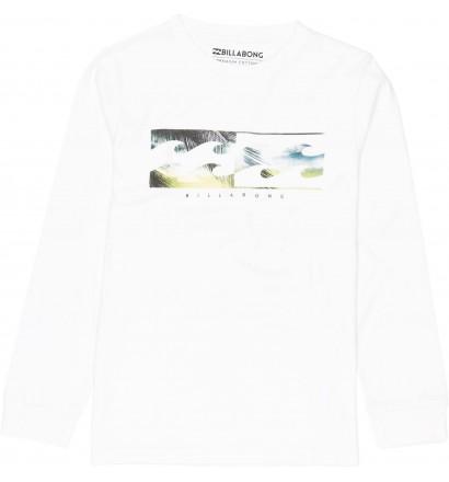 Camiseta Billabong Inverse Boy mangas largas
