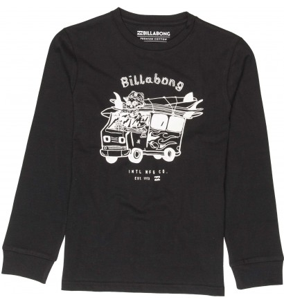 Camiseta Billabong Surf Trip Boy mangas largas