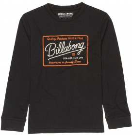 T-shirt Billabong Baldwin Boy lange ärmel