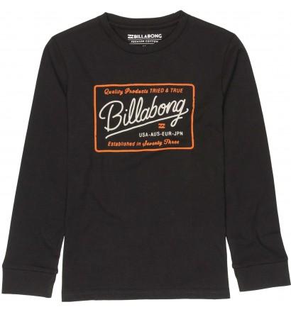 Camisa Billabong Baldwin Boy mangas compridas