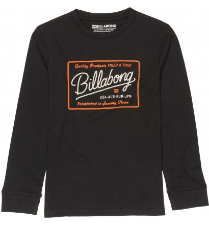 T-shirt Billabong Baldwin Ragazzo maniche lunghe