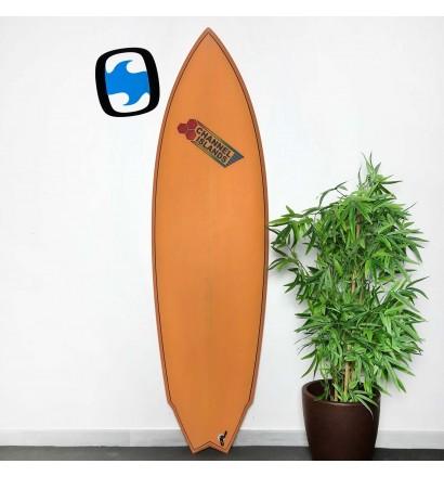 Surfplank Channel Island Twin Fin 5'11 (OP VOORRAAD)