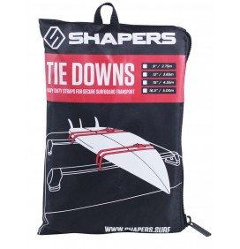 Shapers tie down straps