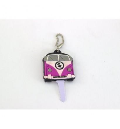 Camper Van plastic key ring