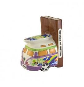 Ceramic van book holder