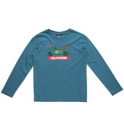 T-shirt Rip Curl Chambray Pocket lange mouwen