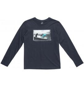 T-shirt Rip Curl Raad lange mouwen