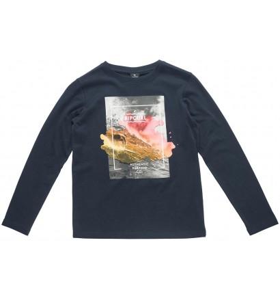 T-shirt Rip Curl-Satured Action lange ärmel