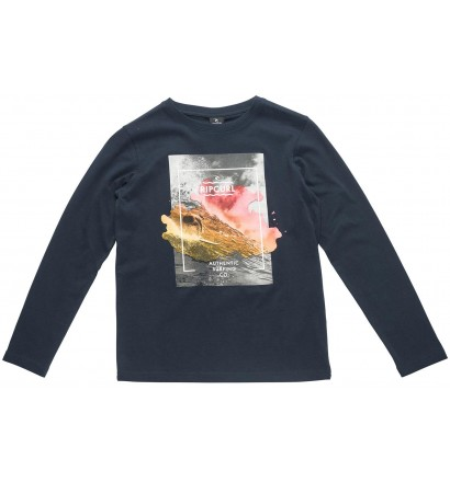 T-Shirt Rip Curl Satured Action manches longues