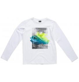 T-shirt Rip Curl tekort aan Actie lange mouwen