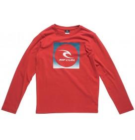 T-shirt Rip Curl Saturo Azione maniche lunghe