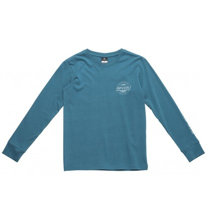 T-shirt Rip Curl Chambray Pocket lange ärmel