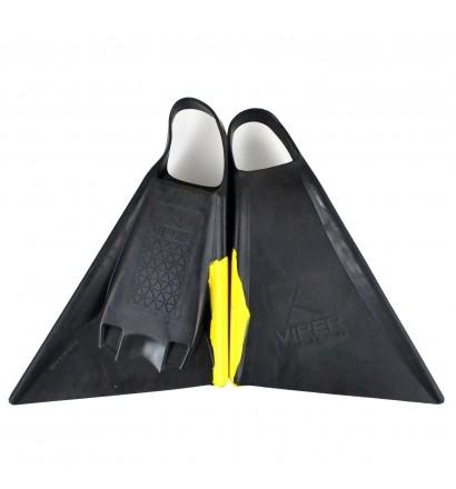 Pé de pato Bodyboard Viper Delta Amarelo