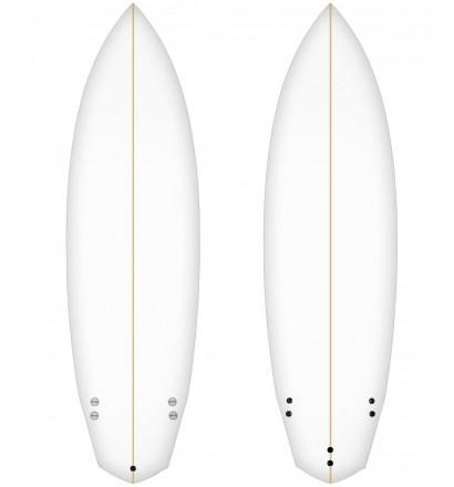 Foam pre shapeado Bennett-modell 7