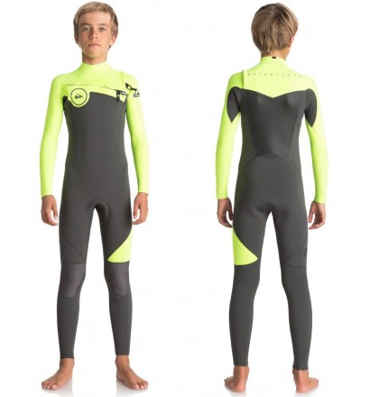 Wetsuit quiksilver Syncro Series Junior 3/2mm
