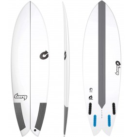 Prancha de surf Torq Classic Fish TEC EPOXY