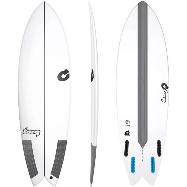 Imagén: Tabla de surf Torq Classic Fish TEC EPOXY (EN STOCK)