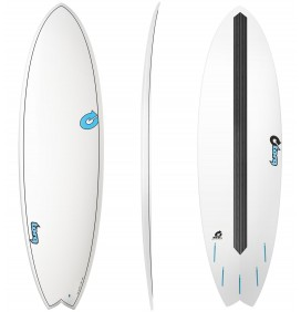 Surfboard fish Torq Carbon Strip