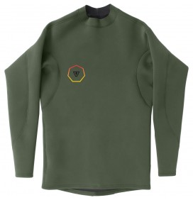 Top neopreen Vissla Performance Reversible LS