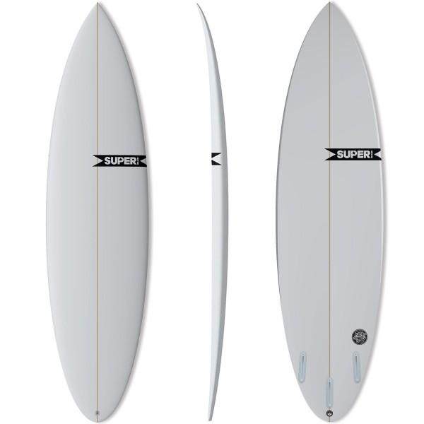 Imagén: Prancha de surf SUPERBRAND Mad Cat Round