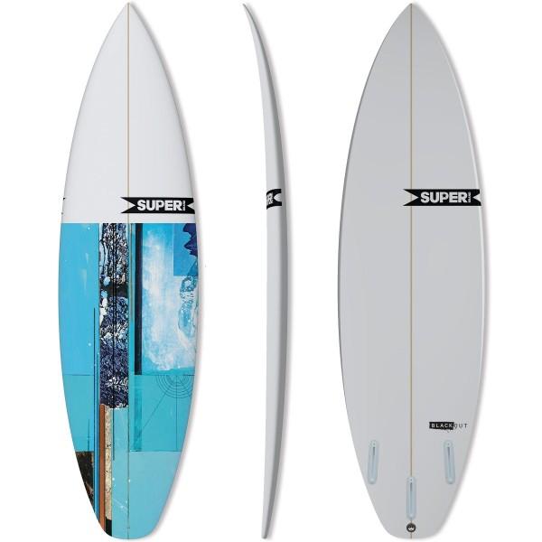 Imagén: Prancha de surf SUPERBRAND Blackout