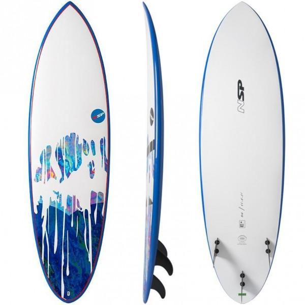 Imagén: Prancha de surf NSP Hybrid E+ (EM ESTOQUE)